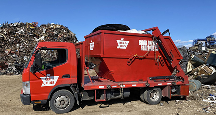 RED-E-BIINS TRUCK MOUNTED SYSTEM